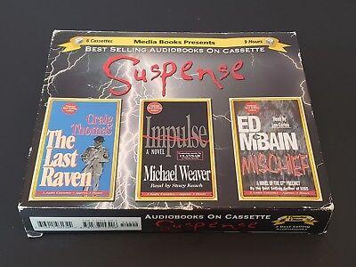 Suspense 3 Audiobooks On Cassette Best