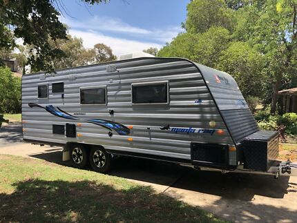 2016 New Age Manta Ray 19BC Special Edition Triple bunks Farrer Woden Valley Preview