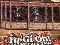SUPER RARE ZOODIAC WHIPTAIL 3X YU-GI-OH CARD MP17-EN183 1ST EDITION