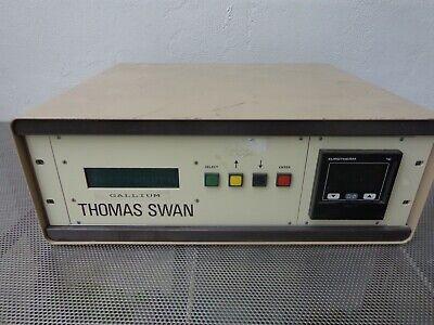 Thomas Swan Epison Gas Flow Concentration Analyzer Gellium