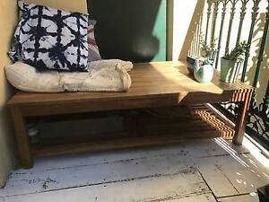 Outdoor timber table / balcony daybed or bench Surry Hills Inner Sydney Preview