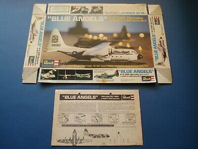 Blue Angels KC-130F Hercules empty box Revell ref.H-148 1/144 scale No kit