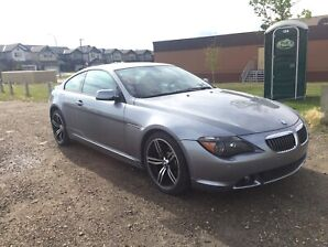 2004 BMW 645CI (Navi, pano roof, 126k, great condition!)