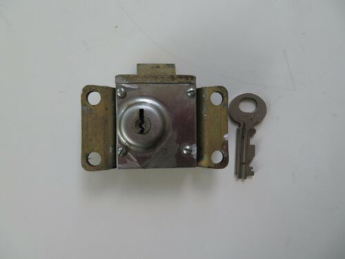 3 slot payphone vault lock with Key NE22