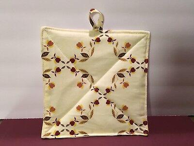 Jewel Tea Autumn Leaf Custom Pot Holder Hot Pad
