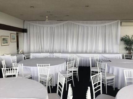 1.8 round table hire seat 10 people $12.00 each
