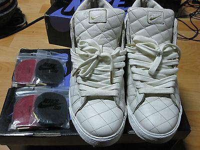 Nike Blazer SB Supreme Blazer White Sz 10.5