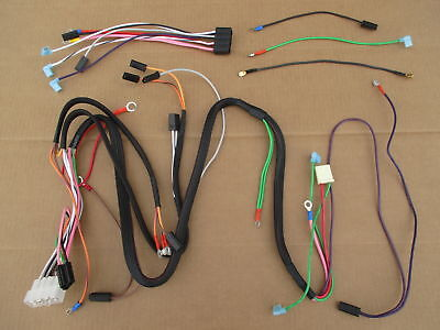 Main And Dash Wiring Harness For Ih International 184 Cub Lo-boy