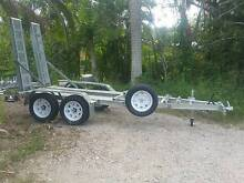 Brand new tandem mini excavator trailer 2T or 2.5T GVM **IN STOCK Warner Pine Rivers Area Preview