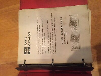 Bucyrus-erie Shovel Crane Hoe Excavator Parts Catalog Manual 40 65 Bucyrus Erie