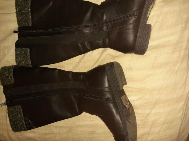 Black Womens Size 11 Dress Boots