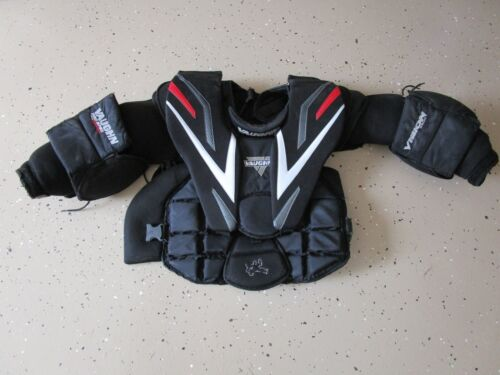 Vaughn VISION 9500 Hockey Goalie Chest Protector blocker shoulder pads - Size L