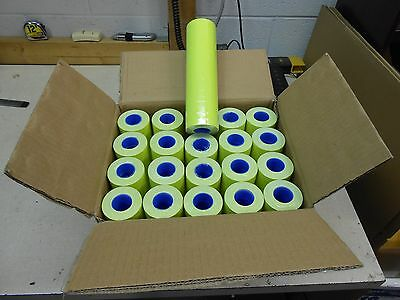 1 Case Of Yellow Labels For Motex 5500  200 Rolls