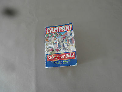 Vintage Campari Reiswijzer Italie - Italy Travelling Guide Dutch (Holland)