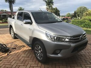 2016 Toyota Hilux SR5 Double cab 6 speed manual