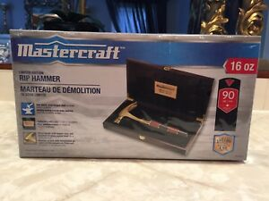 Rip Hammer Ltd edition  from Mastercraft-$35 unopened