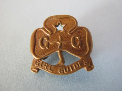 Australian Girl Guides Badge voided star 22mm across