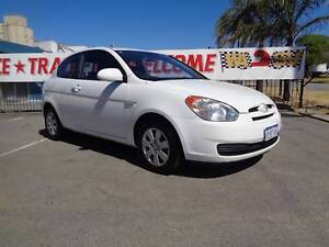 GREAT FIRST  CAR 2007 Hyundai Accent Hatchback 3 YEARS AWN WTY Bentley Canning Area Preview