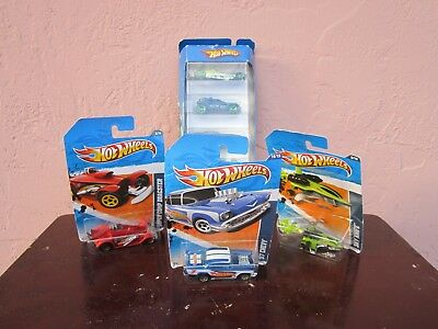 7 Brand New HOT WHEELS vehicles action figures for sale by owner!!
