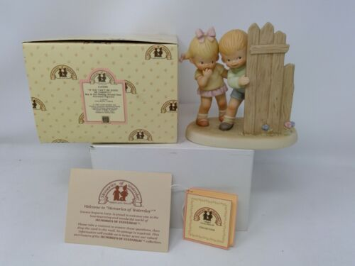 Enesco Memories of Yesterday Figurine - If You Can