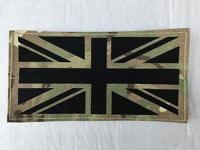 UK BRITISH ARMY SURPLUS MTP UNION JACK SUBDUED FLAG PATCH IFF HOOK & LOOP FIXING