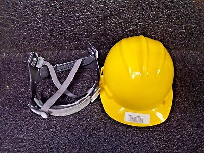 HARD HAT 4100, PINLOCK SUSP, YELLOW (K)