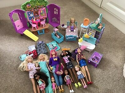 Barbie Dolls Bundle And Accessories Great Condition