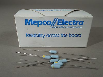 Mixed Lot Of 900 Mepco Electra Resistors 5.11 Kohm 511 Ohm 100ohm 18w