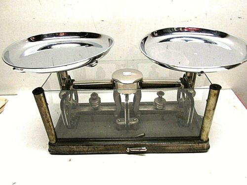 ANTIQUE Torsion Balance Co. Torsion Scales Model 354 Apothecary Pharmacy Scale