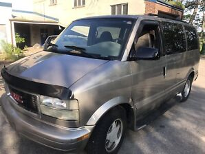 2001 GMC Safari 8 passengers 190000 kms Certy $ 3450