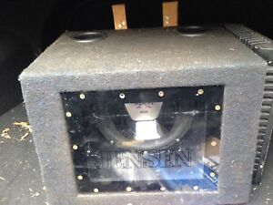 10in subwoofer with amp 800w