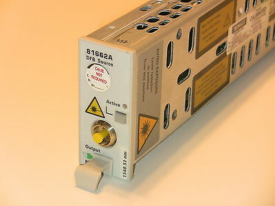 Hp Agilent Keysight 81662a Dfb Laser Source Module