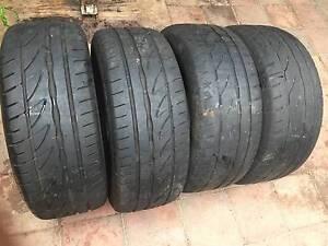 4 Bridgestone POTENZA 205/55/R15 Tyres Tingira Heights Lake Macquarie Area Preview
