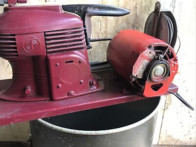 Vintage Air Compressor Complete Works Very Heavy