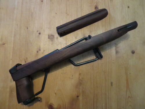 M1 CARBINE PARATROOPER FOLDING STOCK WITH UPPER HAND GUARD - Excellent Condition