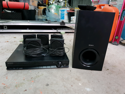 Sony 5.1ch DVD home theatre system