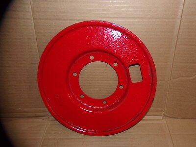 8n2255 Ford Tractor 8n Naa Jubilee Brake Dust Shield Back Plate W Felt Seal
