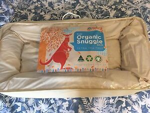 Organic Snuggle Bed by Tetra Tea Tree for babies PLUS extra Bed Cover Clayfield Brisbane North East Preview