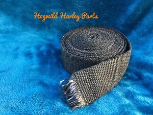 Black Exhaust Wrap.         For Your Harley Davidson.