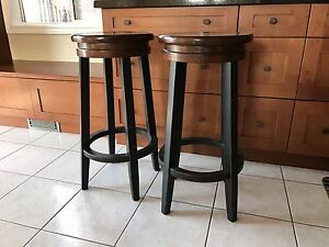 "30"" Bowring Solid Wood Bar Stools"