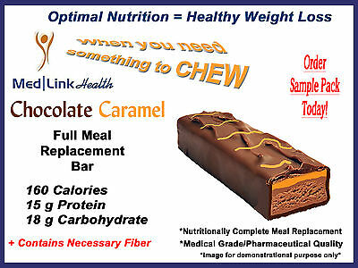 chocolate caramel bar weight loss 6 boxes