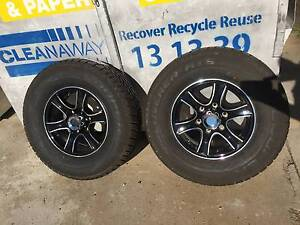 Alloy Rims and Tyres Never Used. Mysterton Townsville City Preview