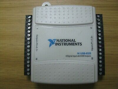 National Instruments Ni Usb-6525 Digital Io Device 16-channel 8-inputs