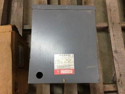 New No Box Square D 120240pri V 120240sec V 10kva 1ph Transformer 10s6fis