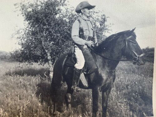 WW1 Rare Schutztruppe German GSWA Colonial Trooper (Original Photograph)
