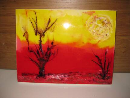 Resin Art Work purchased in Daylesford Victoria #1