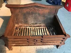 Cast Iron Fireplace Log Holder Queanbeyan Queanbeyan Area Preview