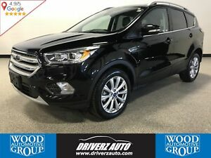 2018 Ford Escape Titanium AWD WITH LEATHER, PANORAMIC ROOF, P...