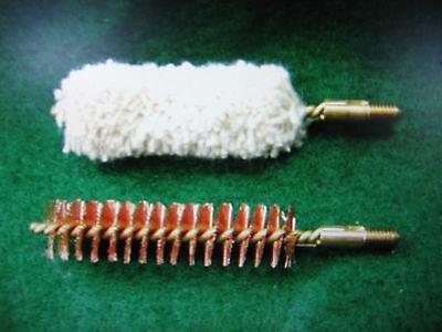 *Best Bore Brush & Swab - .44/.45 Cal. Revolver/Rifle 10-32 Threads - U.S. Made