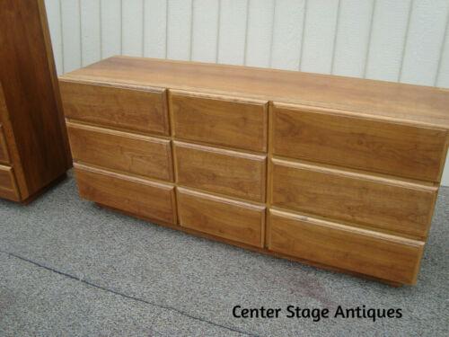 59927 LANE  Mid Century Modern Dresser Chest Sideboard Entertainment Cabinet